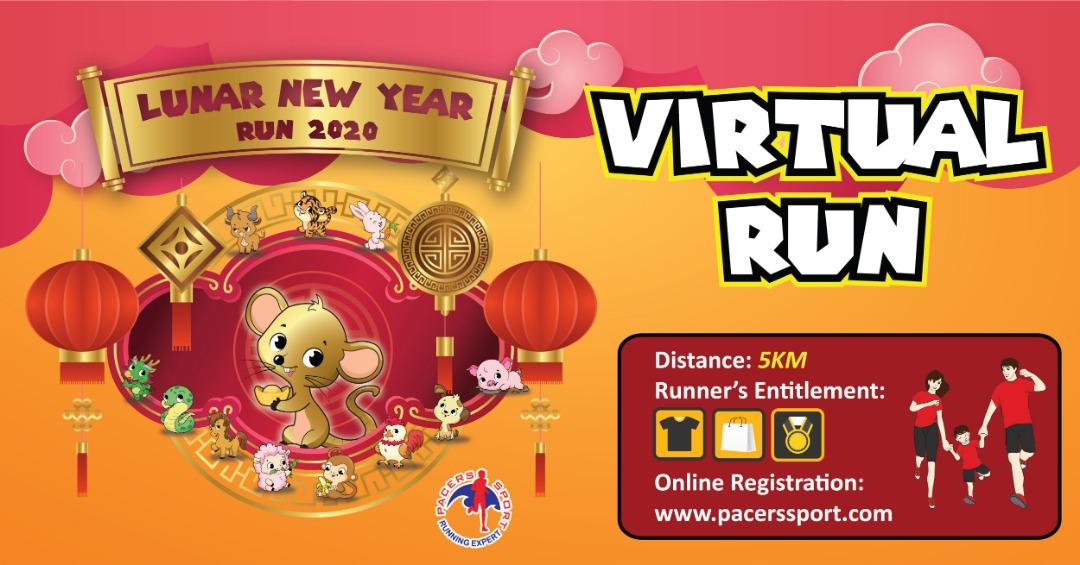 Lunar New Year Virtual Run 2020 | Pacers Sport